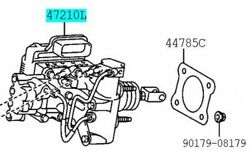 Toyota Genuine 47050-76090 Brake Booster Assy And Master Cylinder Lexus Ct200h