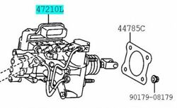 Toyota Genuine 47050-76071 Brake Booster Assy And Master Cylinder Lexus Ct200h