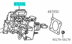 Toyota Genuine 47050-76050 Brake Booster Assy And Master Cylinder Lexus Ct200h