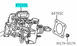 Toyota Genuine 47050-76170 Brake Booster Assy And Master Cylinder Lexus Ct200h