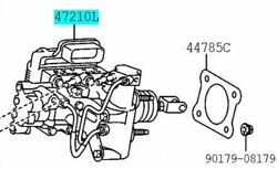 Toyota Genuine 47050-76112 Brake Booster Assy And Master Cylinder Lexus Ct200h