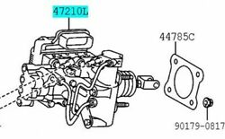 Toyota Genuine 47050-76092 Brake Booster Assy And Master Cylinder Lexus Ct200h