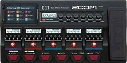 Zoom Guitar Effector G11 Ir Loader Function Touch Panel Compatible Flagship