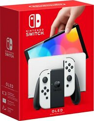 Nintendo Switch Oled White Console Brand New Pre Order