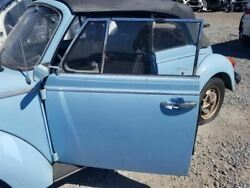 1979 Vw Super Beetle Oem Door Set Left And Right Pair With Glass And Hardware