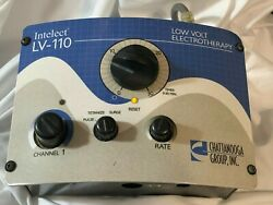 Electric Electrotherapy Machine Intelect Lv-110 Chattanooga Group - As Is