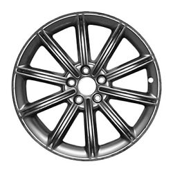 03933 Reconditioned Factory Oem Wheel 19 X 8 Light Smoked Hyper Silver