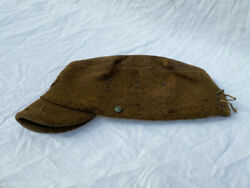 Empire Of Japan National Clothing With Brim Wool Hat Cap Army Military Antique