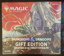 Factory Sealed Mtg Dandd Gift Edition Adventures Of The Forgotten Realms Bundle