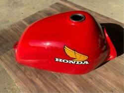 {unused And New} Honda 76and039 Elsinore Mt250 Cr250 Gas Fuel Petrol Tank Oem From Jp