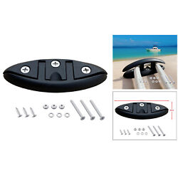 5 Boat Flip Up Cleat Kayak Fittings Accessories Flush Mount 5.11x1.92inch