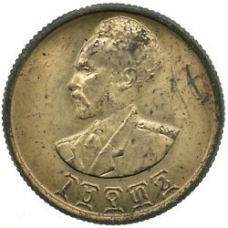 Ethiopia 10 Cents/santeem 1944 Beautiful Collectible Coin Wt29595