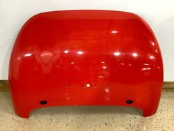 97-02 Plymouth Chrysler Prowler Trunk/deck Lid Prowler Red Prd See Notes