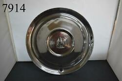 1951-1952 51 52 Plymouth Hubcap 15andrdquo Wheel Cover Belvedere Fury Single