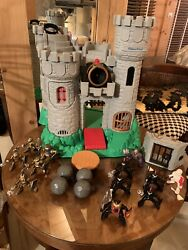Adventures Castle Medieval 7110 Fisher Price Chateau Fort Chevaliers 🧯