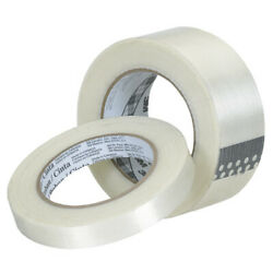 2 X 60 Yds. 3mandtrade 8932 Strapping Tape 3.75 Mil - 240 Pcs