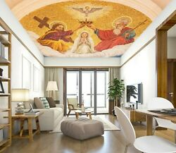 3d Jesus Halo Zhu936 Ceiling Wall Paper Wall Print Decal Wall Deco Amy
