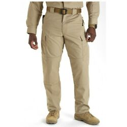 5.11 Tactical Menand039s Ripstop Tdu Pant 74003 Relaxed Fit Sz Xl 36 X 32