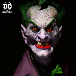 Dc Comics Joker Life-size 11 Scale Bust By Rick Baker New Sealed