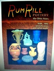 Rumrill Red Wing Stoneware Price Values Guide Collector's Book Color Pics