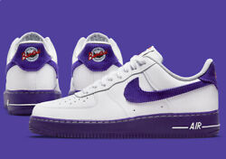 Nike Air Force 1 And03907 Lv8 Emb Shoes Court Purple White Db0264-100 Menand039s New