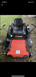 """Gravely Zt2148 Zero Turn Lawn Mower - Just Serviced - New Rear Tires - 48"""" Deck"""