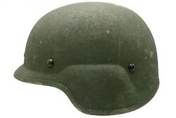 Large Us Issued Marine Corp Usmc Lwh Lightweight Helmet Used No Marpat Cover T1