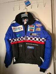 Great Conditionvintage Team Polaris Snowmobile Racing Jacket Small Made In Usa