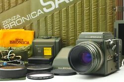 Rare[n Mint] Bronica Safari Sq-a Sf Limited Zenzanon S 80mm F2.8 Lens From Japan