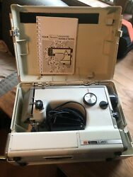 Vintage Sears Kenmore Sewing Machine Model 158-10302 Complete -tested/works