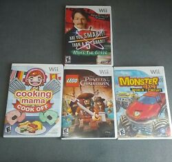 Lot Of 4 Wii Games - Family + Kids Offers Welcome