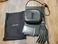 Rare And Sold Out Ysl Monogram Blogger Bag Vintage Vachetta