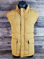 Pre-owned St Johnand039s Bay Yellow Puffer Jacket Size L