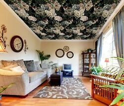 3d Vintage Flowers Zhu1392 Ceiling Wall Paper Wall Print Decal Wall Deco Amy