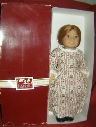 American Girl Felicity 18 Doll By Pleasant Co.1986 Made West Germany