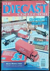 Diecast Collector 3 Co-operative Tractors Trams Minis New Zealand Feb 1998