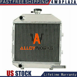 Sba310100211 Cooling Alum Radiator For Ford / New Holland Compact Tractor 1300