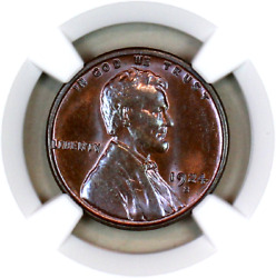1924-s Ms64 Bn Ngc Lincoln Wheat Penny Superb Registry Quality Collection