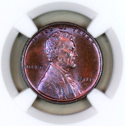 1911-d Ms65 Bn Ngc Lincoln Wheat Penny Registry Quality Collection