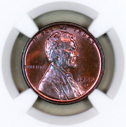 1922-d Ms65 Rb Ngc Lincoln Wheat Penny Registry Quality Collection