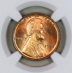 1925-p Ms66 Rd Ngc Lincoln Wheat Penny Registry Quality Collection