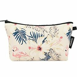 Makeup bag Cosmetic Bag Organizer Small Mini Makeup Pouch for Purse for Women... $7.36