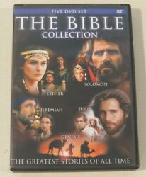 Dvd - The Bible Collection - Five Dvd Set - Greatest Stories Of All Time