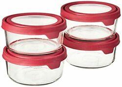 Anchor Hocking Trueseal Glass Food Storage Containers With Airtight Lids Cher...