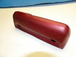 Dodge Gtx Coronet Super Bee 1966-1977 Arm Rest Withy Ash Tray Insert Red