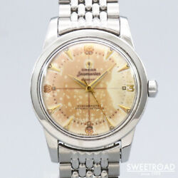 1951 Omega Seamaster Ref.c2577-3 Original Two-tone Dial 34mm Automatic
