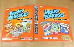 2012 Topps Wacky Packages All-new Series 9 Ans9 3-ring Binder Album Nm Rare