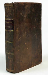 Bluntand039s Strangerand039s Guide To The City Of New-york. 1817. First Edition. With Map