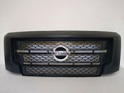2017-2021 Nissan Titan Front Grille Used Oem 62310 9fv0a-clpia03 ►s1391