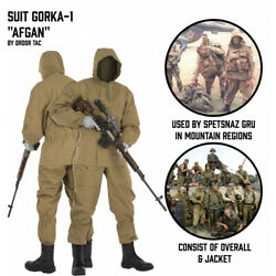Mountain Suit Gorka 1. Afghan. Russian Army And Special Operation Forces S.o.f.